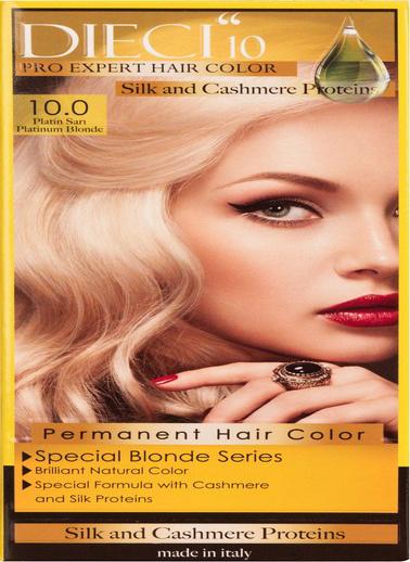 Dıecı Dıecı 10 Eko Kit Saç Boyası 10,0 Platin Sarı Sarı